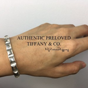 Pre-owned Tiffany & Co. Paloma Picasso Groove Silver Cuff