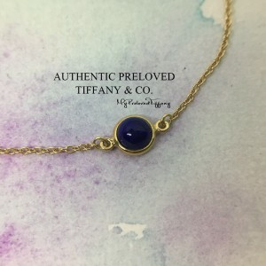 Tiffany & Co. By The Yard Cabochon Lapis Bracelet Gold