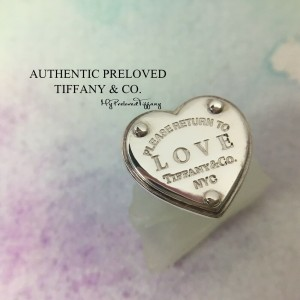 Pre-owned Tiffany & Co. Return To Love Earrings Replacement ONE SIDE