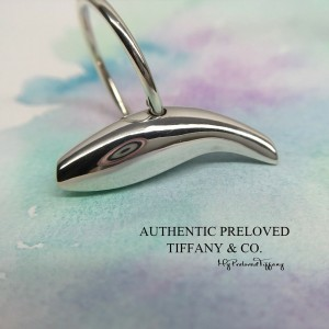 Pre-owned Tiffany & Co. Gehry Fish Ring Silver #7.75